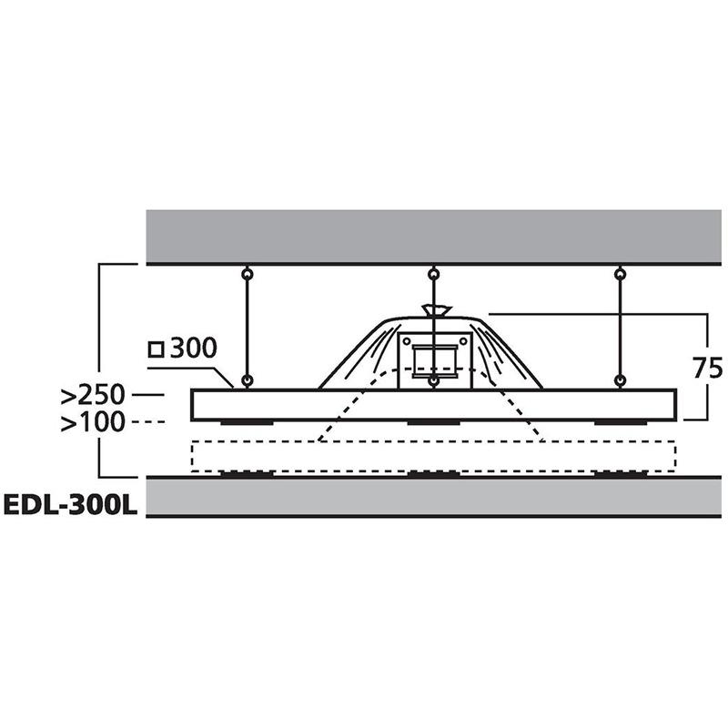 MONACOR EDL-300L plafonski 100V zvučnik