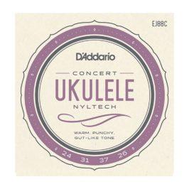 d'addario ej88c nyltech žice za koncert ukulele 1