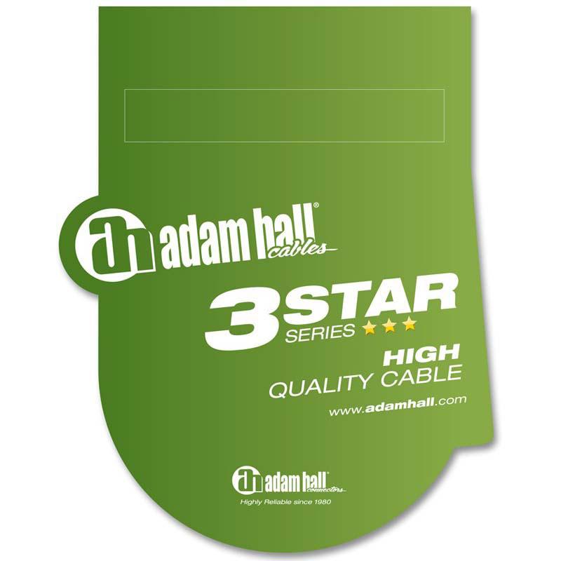 Adam Hall K3MMF0300 mikrofonski kabl 3m
