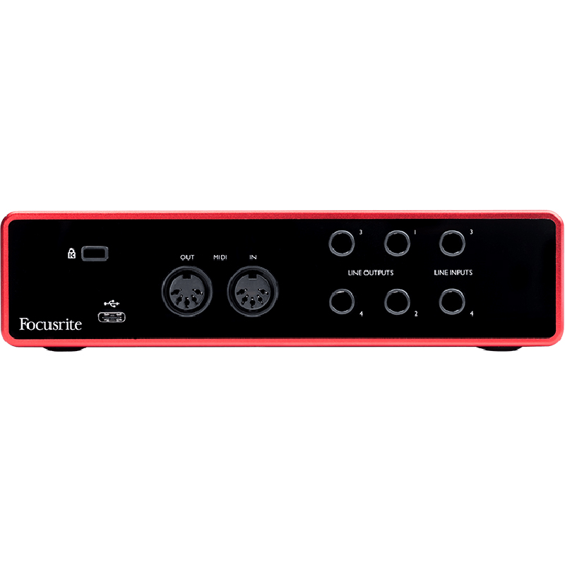 Focusrite Scarlett 4i4 3rd gen audio interfejs
