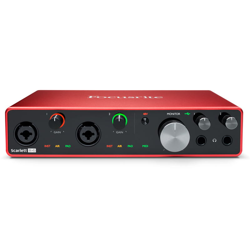 Focusrite Scarlett 8i6 3nd gen audio interfejs