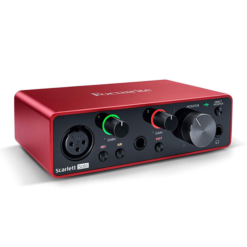 Focusrite Scarlett Solo Studio 3nd gen audio interfejs