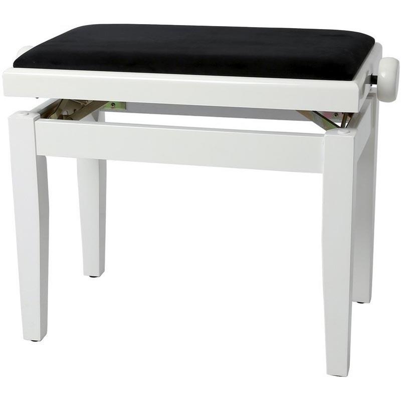 Gewa VE2 WH LAK klavirska stolica 130030